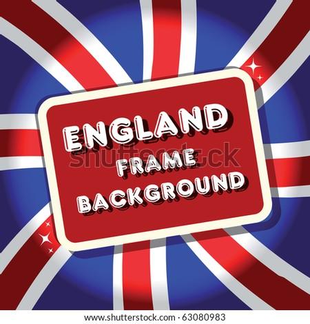 England British flag background frame.tamaravector collection - stock vector