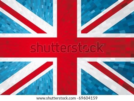 England flag - stock vector