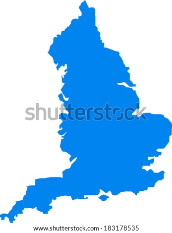England Vector Map