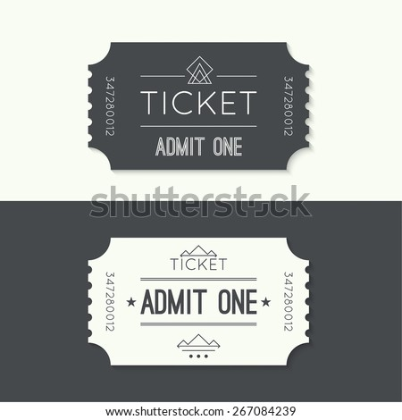 Tickets Images RoyaltyFree Images Vectors – Ticket Design Online Free