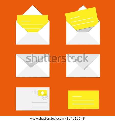 Envelope - stock vector