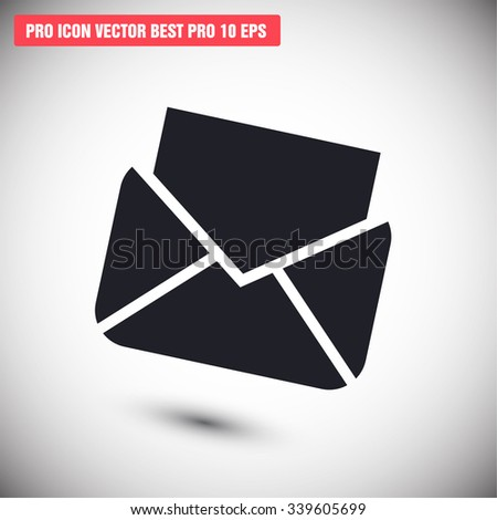 Envelope Mail. icon. Vector Eps 10 - stock vector