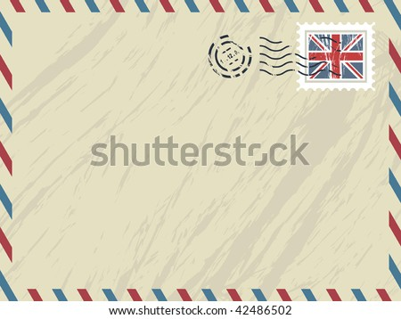 Airmail Stamp Stock Photos Images Amp Pictures Shutterstock