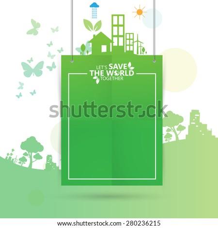 environment - stock vector