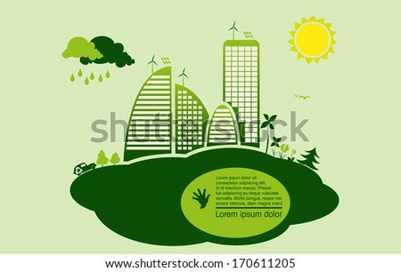 environmental conservation cities  green City