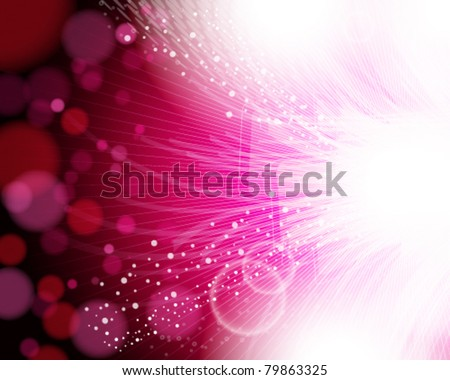 Eps10 abstract pink background. - stock vector