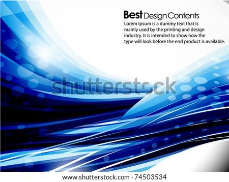 eps10 abstract wave mosaic vector  editable illustration - stock vector