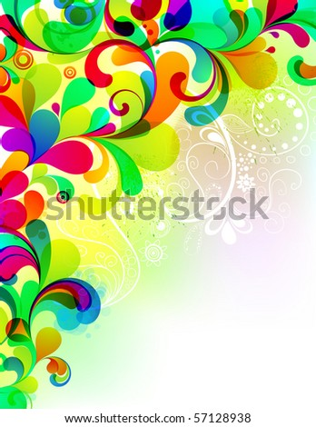 EPS10. Attractive editable background. See my por?folio for more similar images - stock vector