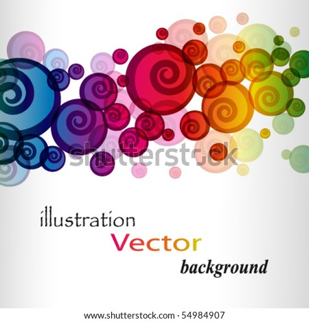 eps colorful background - stock vector