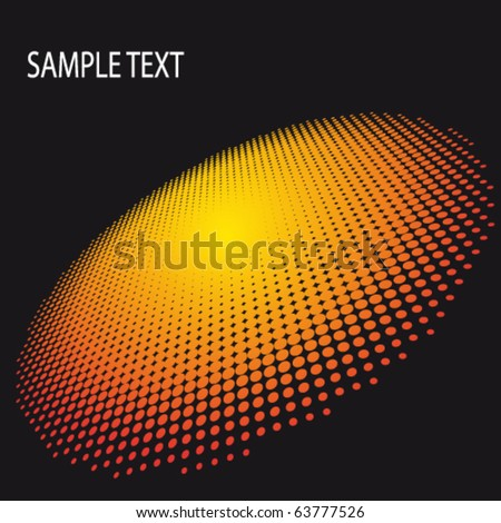 EPS10 3D Spotted Flash Abstract Vector Background - stock vector
