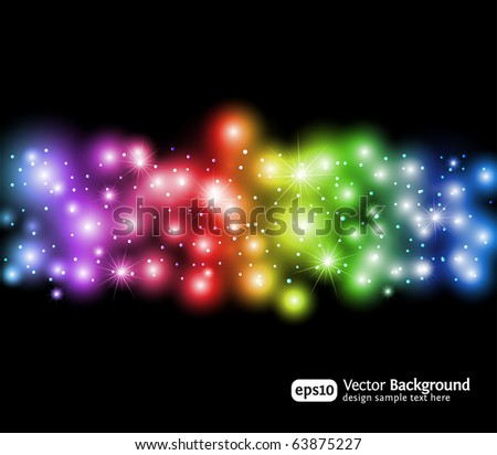 Eps10 light effects background. Modern vector illustration. - stock vector