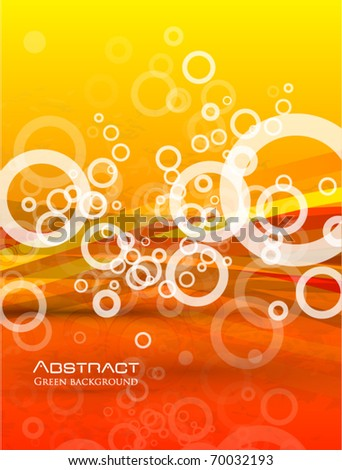 eps10 orange background - stock vector