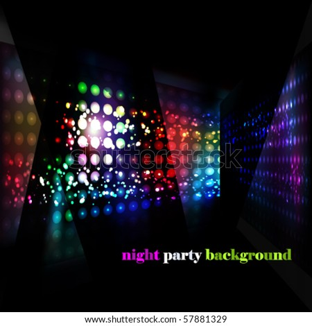Eps10 party background - stock vector
