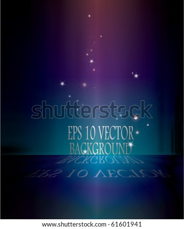 EPS 10 shiny vector background - stock vector