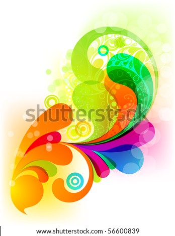 EPS10. Supecolorful trendy element for your design - stock vector