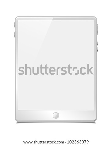 eps10, tablet pc, vector model