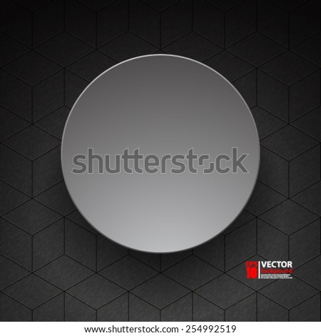 eps 10 vector abstract geometric background concept design - stock vector
