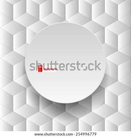 eps 10 vector abstract geometric concept background design - stock vector