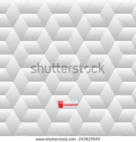 eps 10 vector abstract geometric metallic background futuristic design  - stock vector