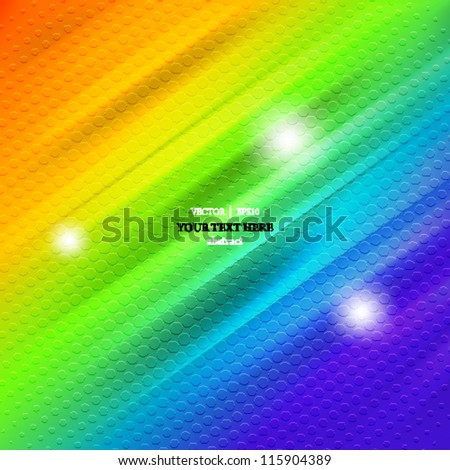 eps10 vector abstract illustration background - stock vector