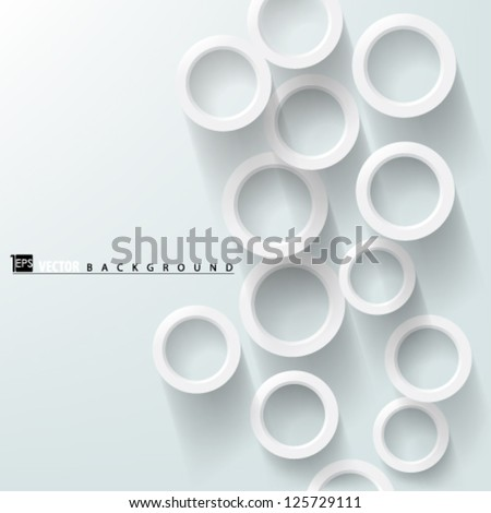 Eps10 Vector Abstract Overlapping Circles Concept