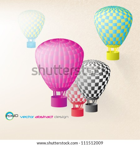 eps10 vector abstract vintage background - stock vector