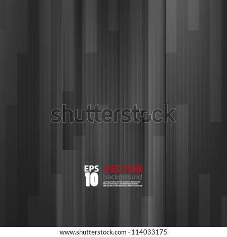eps10 vector abstract wood background - stock vector