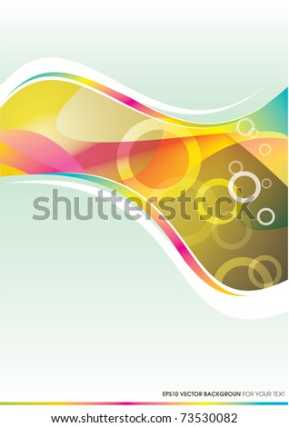 Eps 10 Vector Background For Your Text