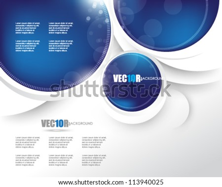 eps10 vector corporate abstract futuristic design - stock vector