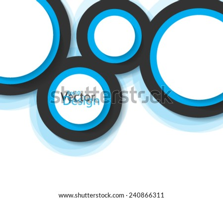 Eps10 Vector Elegant Design Concept for you Corporate Business - stock vector