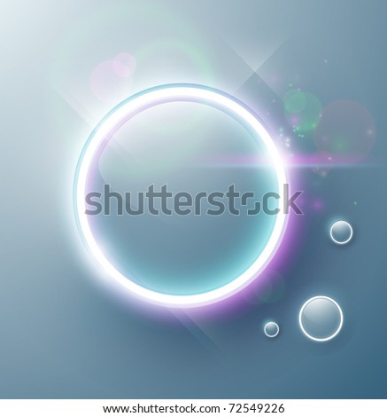 Eps10. Vector. Fresh button design with shining effects to attract attention. Fully editable. - stock vector