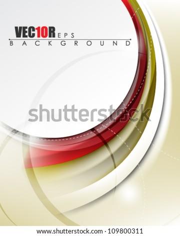 eps10 vector futuristic abstract frame banner design - stock vector