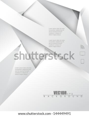 eps10 vector metallic infographics design - stock vector