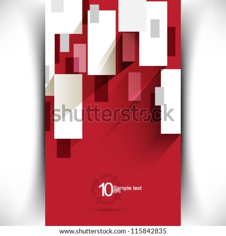 eps10 vector modern corporate concept illustration - stock vector