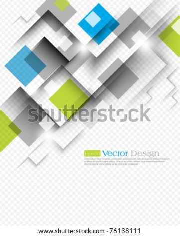 eps10 vector square background concept