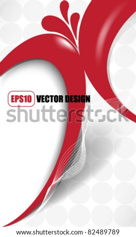 eps10 vector swoosh elements concept design