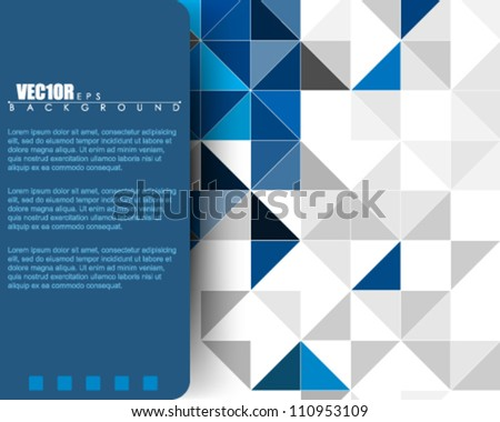 eps10 vector website template abstract deign - stock vector
