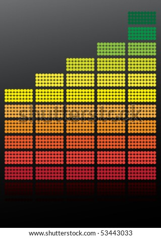 Equalizer / Vector - stock vector