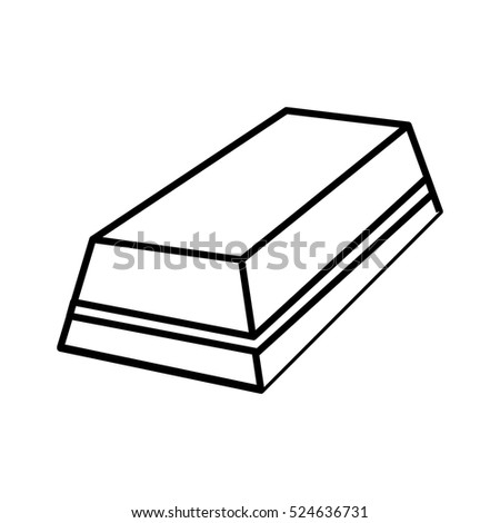 eraser rubber tool icon vector illustration graphic design
