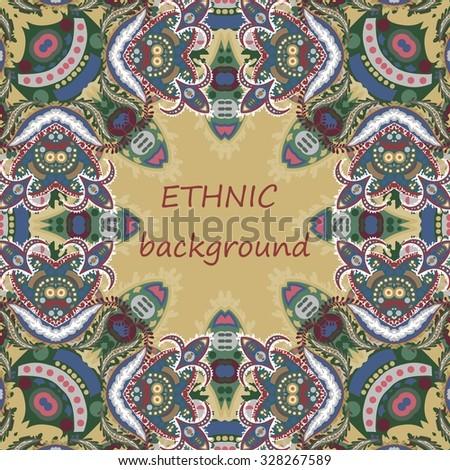 ethnic background - stock vector