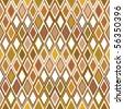 Ethnic beige texture - stock vector