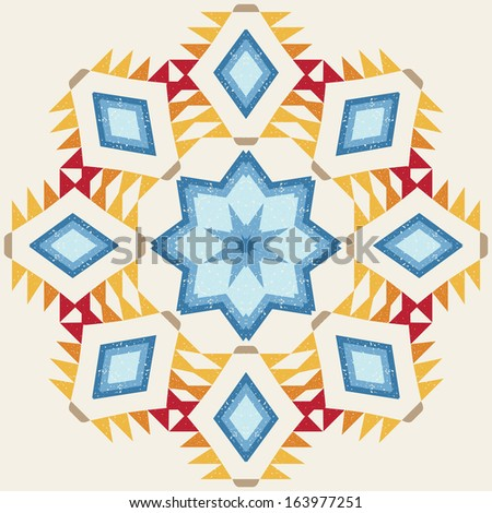 Teal mandala stock photos images amp pictures shutterstock