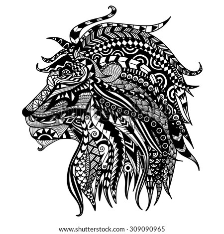 Tattoo Design Use For Print Posters T shirtslogocoloring Page