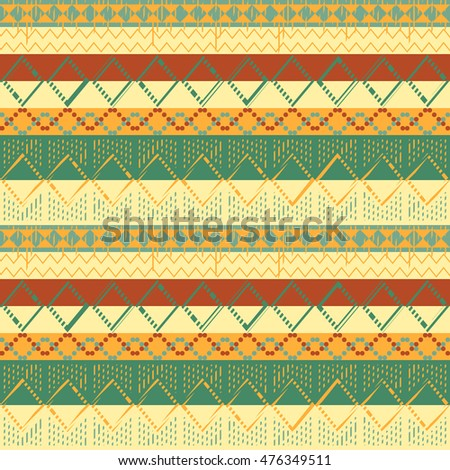 ethnic seamless pattern geometric design. vector illustrationaa background