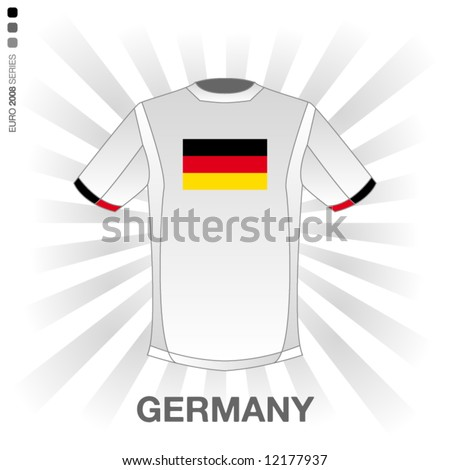 EURO 2008 SERIES - GERMANY - stock vector