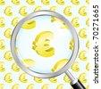 Euro. Vector illustration. - stock vector