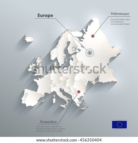 Europe political map flag 3d vector stock vector hd royalty free europe political map flag 3d vector stock vector hd royalty free 456350404 shutterstock gumiabroncs Images