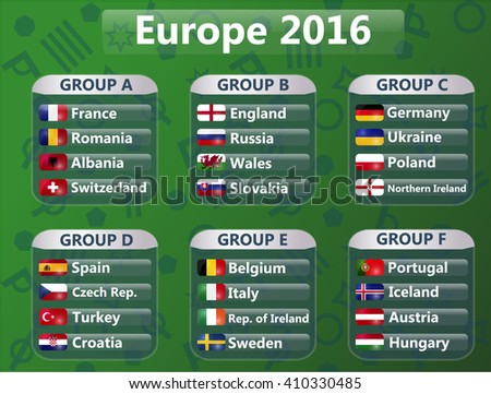 european cup groups