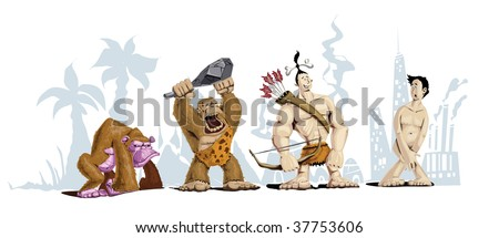 Theory Of Evolution Stock Images, Royalty-Free Images & Vectors ...