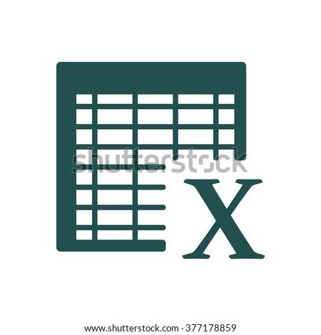 Excel Icon JPG, Excel Icon Graphic, Excel Icon Picture, Excel Icon EPS, Excel Icon AI, Excel Icon JPEG, Excel Icon Art, Excel Icon, Excel Icon Vector - stock vector